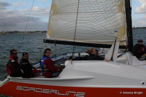 Borderline sailing
