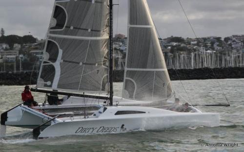 Dirty Deeds sailing