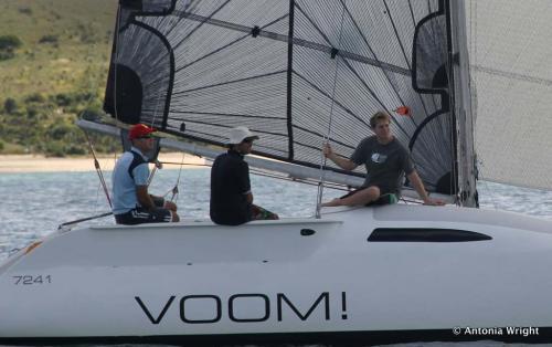 Voom! sailing