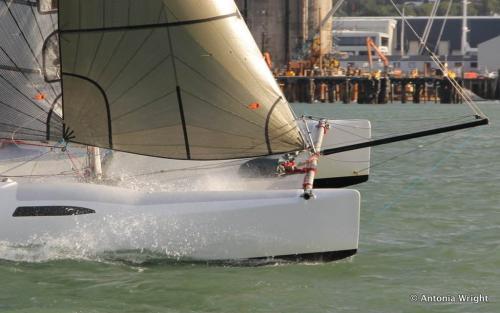 catamaran bows