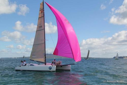 Voom! sailing under gennaker